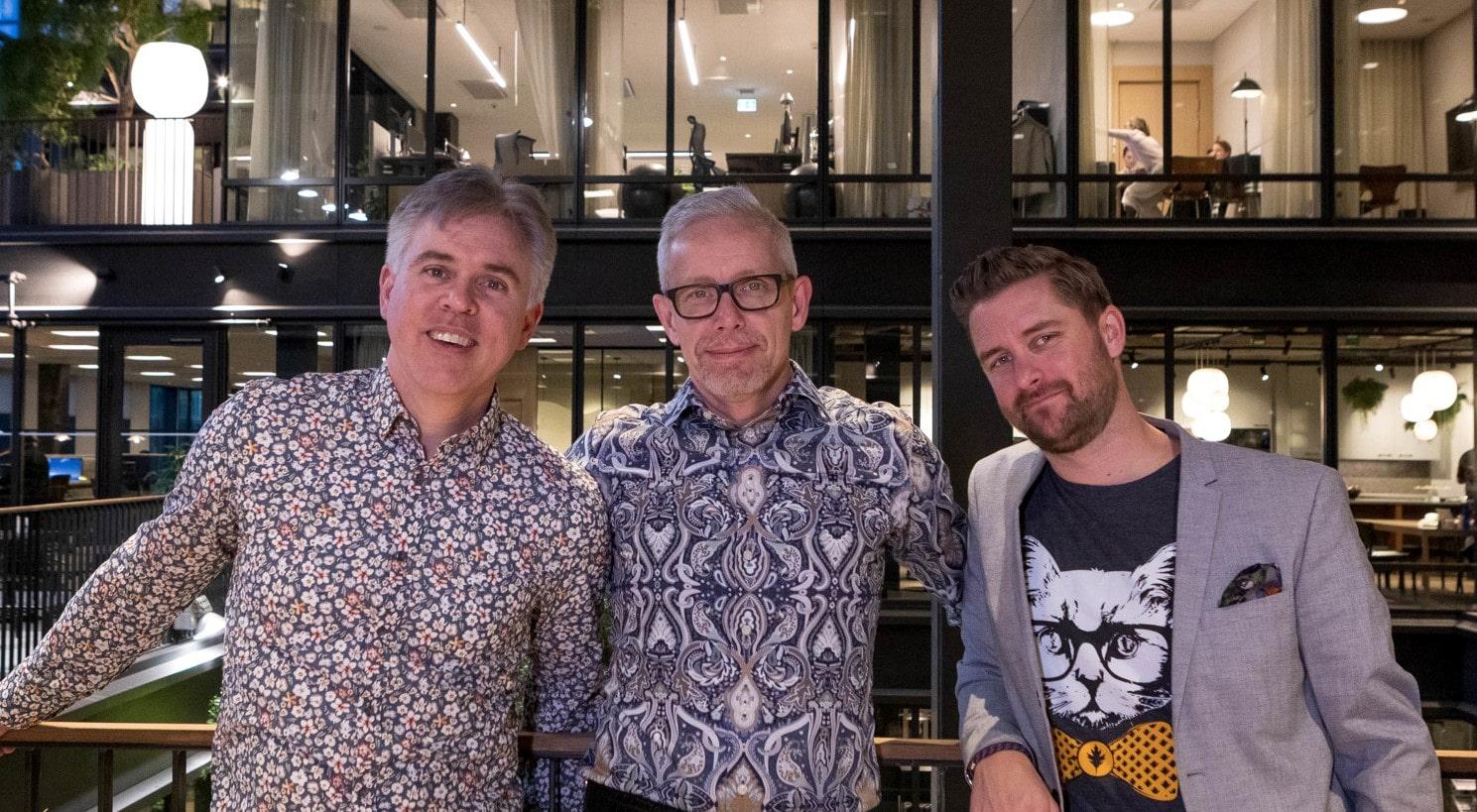 Jeff, Tobbe och Martin