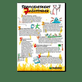 Info grafik servicedesk 7 sins